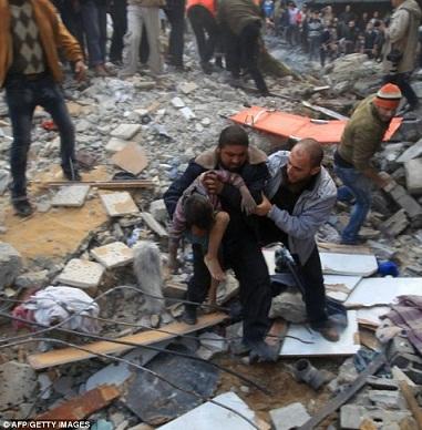 غزه در جنگ 2012