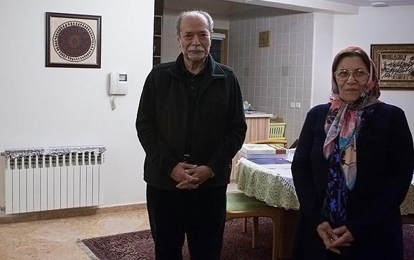 تصاویری جنجالی از علی نصیریان و همسرش 2013